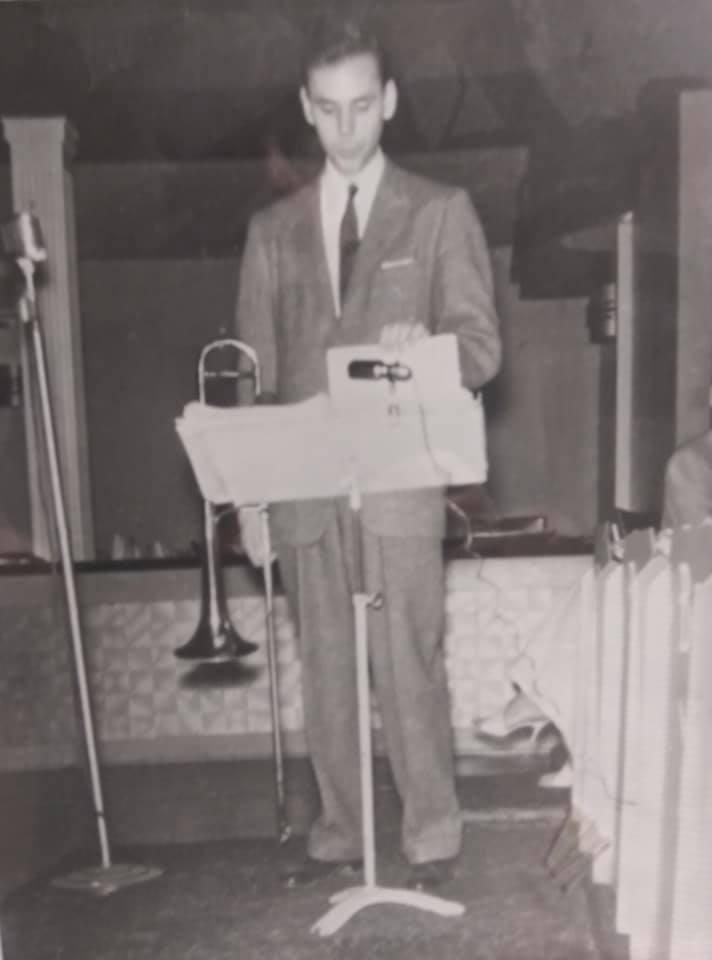 "Urbie Green 1959 or 1960 - Photo was taken by Don ""Ace"" Eberly at the Grandview Inn in Columbus"