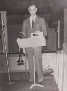 """Urbie Green 1959 or 1960 - Photo was taken by Don """"Ace"""" Eberly at the Grandview Inn in Columbus"""